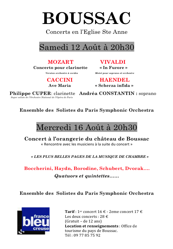 Pascal Concerts 2017