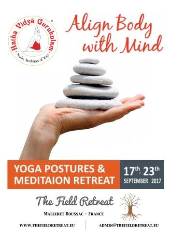 yoga poses retreat