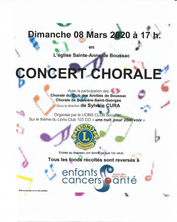 affiche chorale 08-03-1