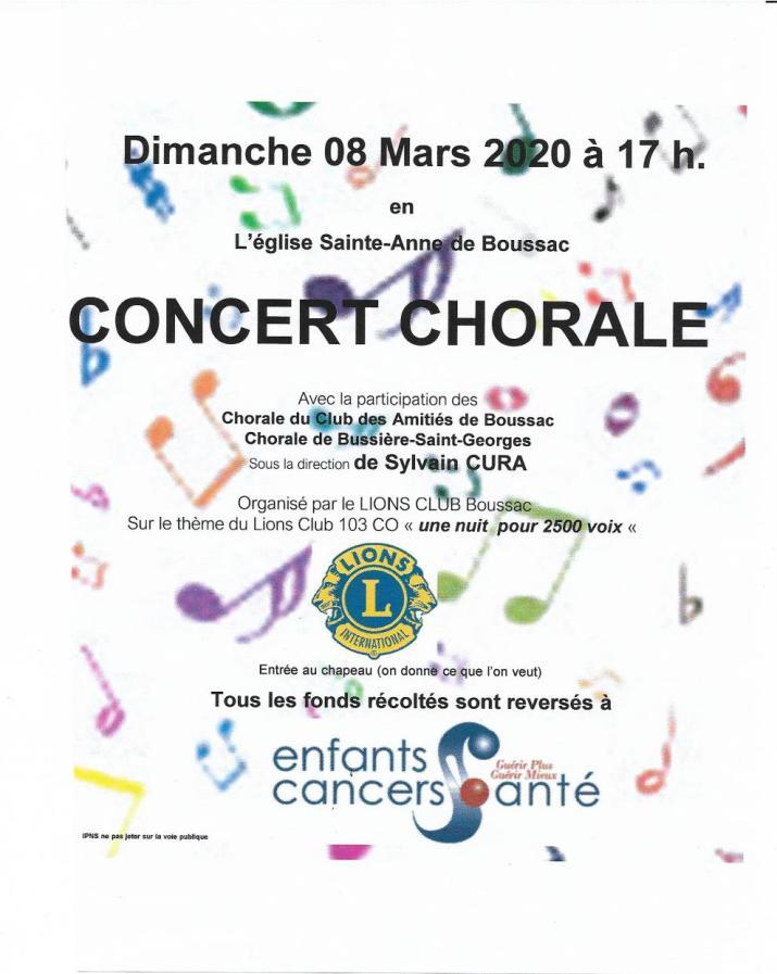 affiche chorale 08-03-1